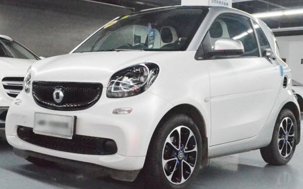 Used smart fortwo 2015 1.0L 52 kW hard top passion version