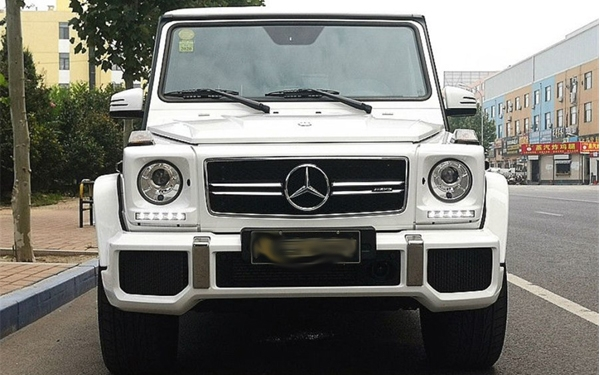 Jinan used car recycling: Mercedes-Benz G-class AMG 2016 AMG G 63