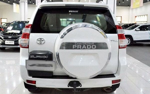 Used Prado (import) 2014 2.7L automatic deluxe version