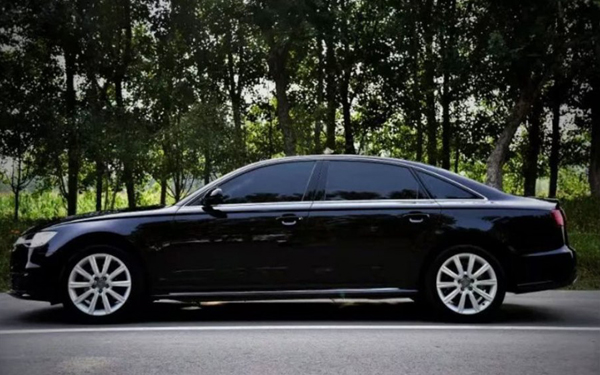 Used Car Recycling in Jinan: Used Audi A6L 2018 30th Anniversary Year TFSI Aggressive
