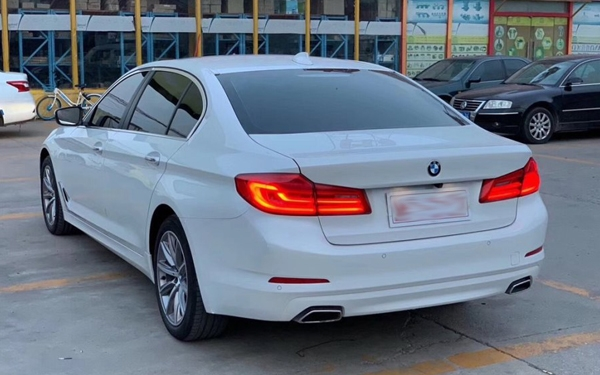 Second-hand BMW 5 Series 2018 528Li listed special edition, Jinan used car recycling
